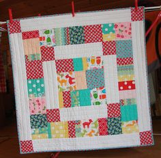 In a Thread: Baby Girl Quilt
