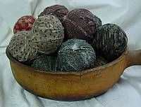 Wax Scented Rag Balls I've Made These Before Super Easy!!!  Tutorial at the Bottom of the Page  happy crafting!!!