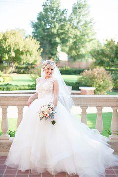 glam garden bridal session   Kristen Edwards Photography   Glamour & Grace