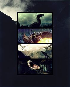 loveinmurmansk:  Fairy Tale Meme.  6 Creatures [1/6] A common trope in fairy tales and folklore as well as a creature of great power, dragon...