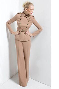 Lauren Military Jacket. Anjelica High Waist Pant