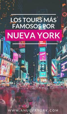 bucket list de novios Los tours y excursiones ms f - bucketlist New York Travel, Travel Usa, Lonely Planet, New York Bucket List, New York 2017, East Coast Usa, New York Tours, Manhattan New York, Packing Tips For Travel