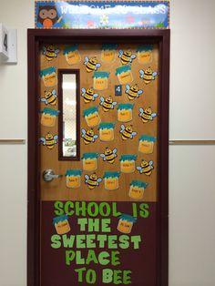 Preschool door !