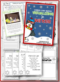 Such cute winter poems and stories for visualizing. Perfect for new teachers or for teachers who are new to the Common Core!