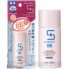 Sunmedic UV Medicated BB Protect Mild (tinted physical sunscreen! get natural ocre for myself - OC20)