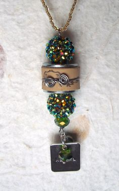 Wine Cork Necklace Charm via Etsy