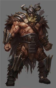Barbarian by TianyiWu
