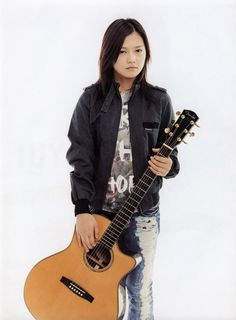 You wouldn't expect someone who is extremely shy to pursue a career in music. Well, that's exactly what YUI did. Despite her shyness, she dropped out of school, started playing on the streets to help overcome her shyness, and by the time she was 18, she had released her first album, and by the time she was 20, YUI had already starred in a movie (Midnight Sun). Her perseverance to overcome her shyness and her accomplishments that came as a result of her perseverance are what I admire most…