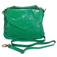 green purse cross body #laticoleather