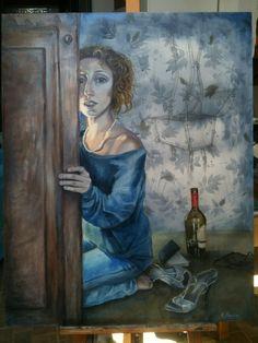 L'uragano, olio su tela, 80 x 100, maggio 2014
