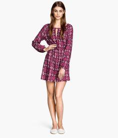 H&M Gemustertes Kleid 24,99