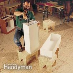 <p>You don't need a gigantic workshop to produce beautiful  woodworking projects. You just need to use your existing space wisely. In this  article, we'll show how to squeeze the most space from a tiny shop. We'll give  you tips for storing tools and materials so they're out of your way, organizing  your shop so there's more room to work, and building storage units that keep  items off the floor so you're not tripping over them. We'll also show you h...