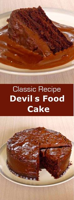 Devil's food Cake probably goes way back and originated from the southern states…