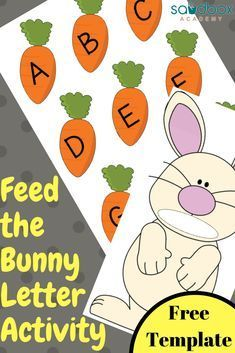 Bunny Letter Activity