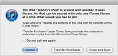iTunes Store: Transferring purchases from your iOS device or iPod to a computer