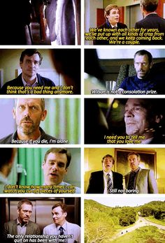 House and Wilson :) The Best of Friends