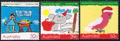 Australia 1988 Christmas Set Fine Mint SG 1165/7 Scott 1102/4  Other Australian Stamps HERE