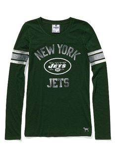 cfa72d1d4 NY Jets Long-Sleeve Football Tee Greenwich Village