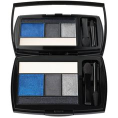 Lancome Color Design 5 Shadow & Liner Palette ($50) ❤ liked on Polyvore featuring beauty products, makeup, eye makeup, eyeshadow, midnight rush, palette eyeshadow, lancôme, lancome eye shadow, long wear eyeshadow and eye brow makeup