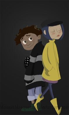 hehehehe when I was thinking on Coraline going into a little door into a wonder world, I just thoug. Coraline in Wonderland Coraline Jones, Coraline Movie, Coraline Art, Tim Burton Characters, Tim Burton Films, Tim Burton Style, Coraline And Wybie, Coraline Aesthetic, Laika Studios