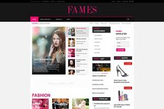 Fames - Fashion News Joomla Template by JoomUltra on @Graphicsauthor