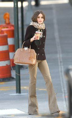 Shop Her Style: Olivia Palermo in Pringle of Scotland - Fashionista Barbie Olivia Palermo Stil, Olivia Palermo Street Style, Olivia Palermo Lookbook, Look Fashion, Winter Fashion, Womens Fashion, Fashion Outfits, Nike Outfits, Gothic Fashion
