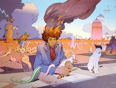 Fallece Jean Giraud 'Moebius' uno de los genios del cómic.