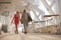 One of the pleasures of cruising is the stunning views from out on the teak-lined Promenade on board Black Watch.