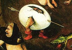 from Bosch's The Last Judgement!