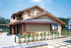 広い敷地に建つ三世代が住む本格和風住宅。|和風・和モダン| Japanese Architecture, Architecture Design, Japanese House, Japanese Design, Modern House Design, Woodworking Projects, Beautiful Homes, Sweet Home, Exterior