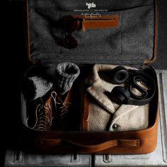 CarryOn Suitcase by Hard Graft