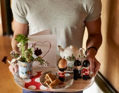Happy Valentine's free treat #8 - bring them their favourite breakfast in bed.