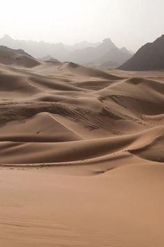 contrast of the smooth sand and rugged mountains. Dune, Beautiful World, Beautiful Places, Wrath And The Dawn, Deserts Of The World, Desert Dream, Mother Earth, Wonders Of The World, Scenery