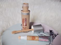Rimmel Lasting Finish Breathable Foundation and Concealer Review