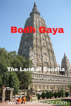 Bodh Gaya is considered as one of the most important Buddhist pilgrimage sites. The Mahabodhi Temple complex was built to mark the site where the Buddha attained enlightenment. I take you through this sacred destination in India, which also happens to be my birthplace. Places To Travel, Places To Go, Travel Destinations, Bodh Gaya, Moving On In Life, Bodhi Tree, Gautama Buddha, Travel Guides, Travel Tips