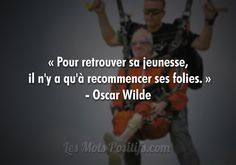Citations Facebook, Citation Oscar Wilde, Oscar Wilde Quotes, Video Motivation, Good Environment, Lol, French Quotes, Positive Affirmations, Positive Thoughts