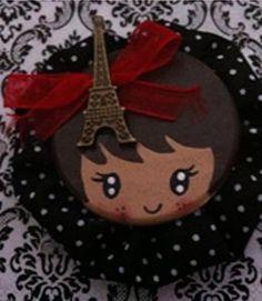 Broche Paris Je t'Aime