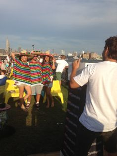 Mustachio Bashio Party at Pier 13 in Hoboken! For this event we provided a awesome mustache and sombrero props and a great energetic team to promote Pier 13 and provide customers with an amazing instant branded photo take-away!