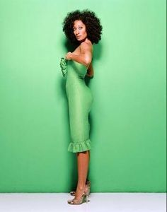 """""""I buy what makes my heart sing. So, it's not that I follow one specific track. It's sort of what I like. I love colors. I love unique pieces. I love vintage clothing."""" - Tracee Ellis Ross, Style Network"""
