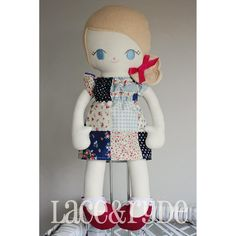 Lace and Ryde, handmade doll