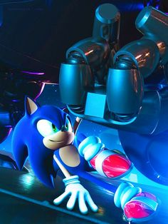 Sonic - this scene was totally awesome!