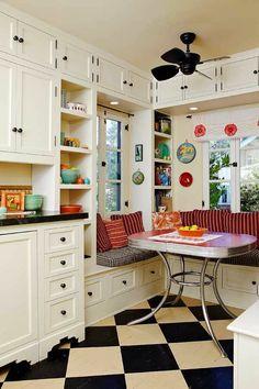 gem tliche k che im landhausstil einrichten brina pinterest gem tliche k che sitzbank und. Black Bedroom Furniture Sets. Home Design Ideas