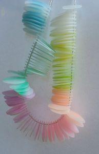 Translucent Polymer Clay by Le Boudoir de Creme..pastel effect is gorgeous http://vecreme.canalblog.com/