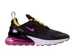 brand new b2387 32a28 Nike Air Max 270 QS Chaussure Sportswear Pas Cher Pour Femme Enfant Noir  violet blanc