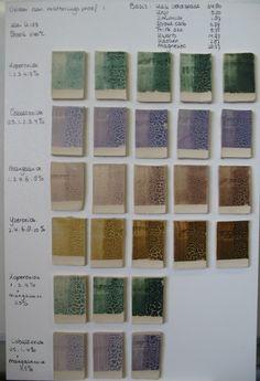 lichen glazuur | Klei