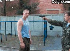 How to disarm a guy with gun