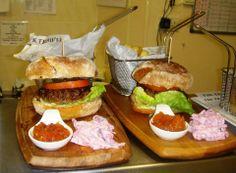 Burger Time yum yum! https://www.facebook.com/photo.php?fbid=10201011041269049