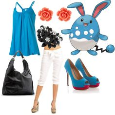Azumarill, created by catloverd on Polyvore