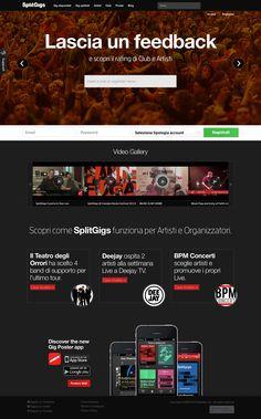 SplitGigs è un social network che ti dà possibilità di entrare in contatto con altre band e condividere il palco per le tue serate live al fine di ottenere uno scambio di visibilità e di concerti.