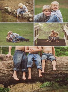 barefoot brothers playing in creek barefoot brothers playing in creek Brother Pictures, Boy Pictures, Boy Photos, Family Photos, Farm Family Pictures, Family Photo Sessions, Family Posing, Sibling Photography, Toddler Boy Photography